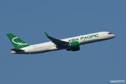 sepia2016さんが、成田国際空港で撮影したアジア・パシフィック・エアラインズ 757-230(PCF)の航空フォト(飛行機 写真・画像)