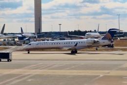 TA27さんが、ワシントン・ダレス国際空港で撮影したメサ・エアラインズ CL-600-2C10 Regional Jet CRJ-701ERの航空フォト(飛行機 写真・画像)