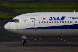 ゆーすきんさんが、羽田空港で撮影した全日空 767-381/ERの航空フォト(飛行機 写真・画像)
