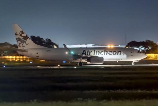 Cozy Gotoさんが、成田国際空港で撮影したエア・インチョン 737-86J/SFの航空フォト(飛行機 写真・画像)