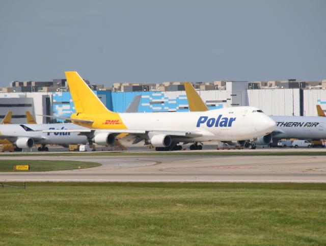 ngocvgさんが、シンシナティ・ノーザンケンタッキー国際空港で撮影したポーラーエアカーゴ 747-46NF/SCDの航空フォト(飛行機 写真・画像)