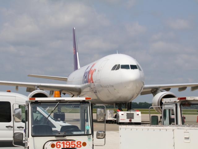 ngocvgさんが、シンシナティ・ノーザンケンタッキー国際空港で撮影したFedEx A330の航空フォト(飛行機 写真・画像)
