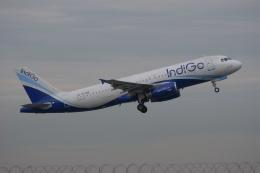 磐城さんが、スワンナプーム国際空港で撮影したインディゴ A320-232の航空フォト(飛行機 写真・画像)