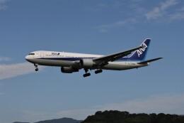 もぐ3さんが、福岡空港で撮影した全日空 767-381の航空フォト(飛行機 写真・画像)