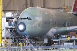 quicksilverさんが、トゥールーズ・ブラニャック空港で撮影したエミレーツ航空 A380-861の航空フォト(飛行機 写真・画像)