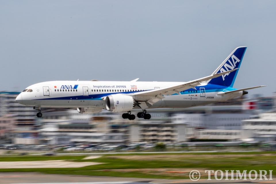 遠森一郎さんの全日空 Boeing 787-8 Dreamliner (JA838A) 航空フォト