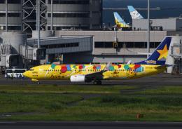 じーく。さんが、羽田空港で撮影したスカイマーク 737-8ALの航空フォト(飛行機 写真・画像)