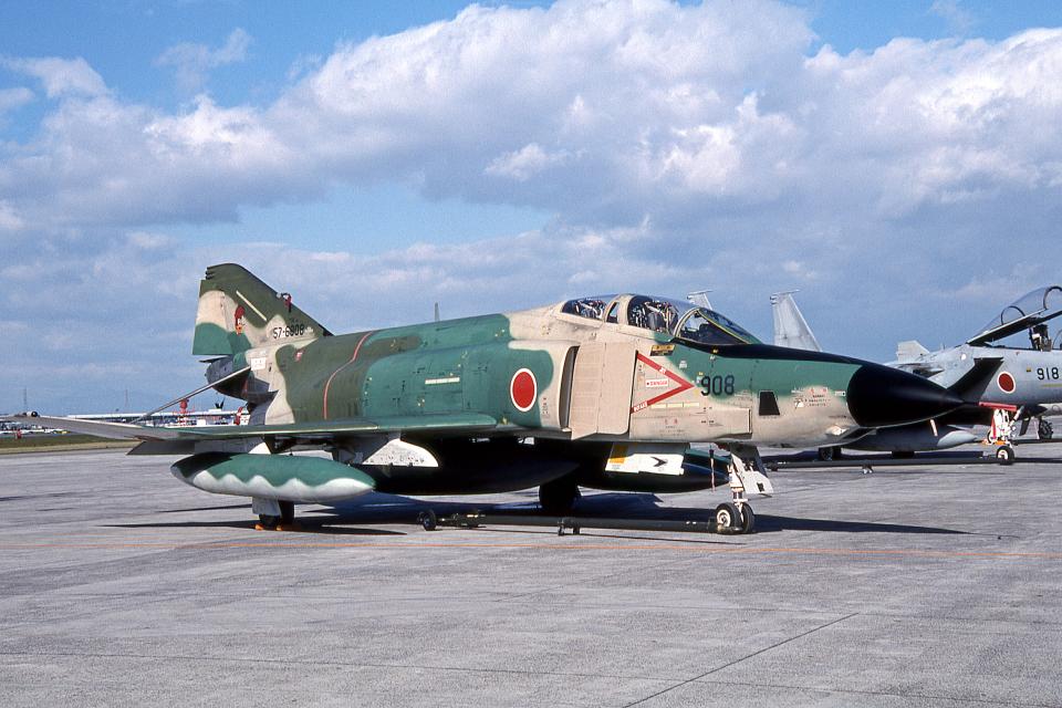 JAパイロットさんの航空自衛隊 McDonnell Douglas RF-4E Phantom II (57-6908) 航空フォト