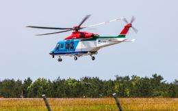 ひげじいさんが、庄内空港で撮影した新潟県消防防災航空隊 AW139の航空フォト(飛行機 写真・画像)