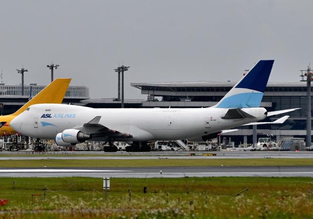 航空フォト:OE-ILC ASLエアラインズ・ベルギー 747-400