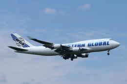 mogusaenさんが、横田基地で撮影したウエスタン・グローバル・エアラインズ 747-446(BCF)の航空フォト(飛行機 写真・画像)