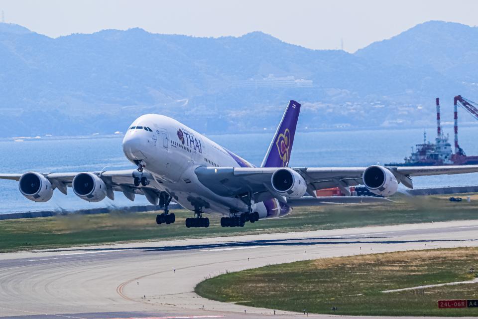rokko2000さんのタイ国際航空 Airbus A380 (HS-TUE) 航空フォト
