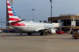 TA27さんが、ジョージ・ブッシュ・インターコンチネンタル空港で撮影したアメリカン航空 737-823の航空フォト(飛行機 写真・画像)