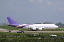 umiさんが、タンソンニャット国際空港で撮影したテラ・アヴィア 747-4D7(BCF)の航空フォト(飛行機 写真・画像)