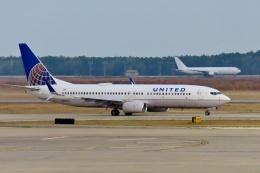 TA27さんが、ジョージ・ブッシュ・インターコンチネンタル空港で撮影したユナイテッド航空 737-824の航空フォト(飛行機 写真・画像)