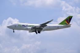 umiさんが、タンソンニャット国際空港で撮影したACTエアラインズ 747-428F/ER/SCDの航空フォト(飛行機 写真・画像)