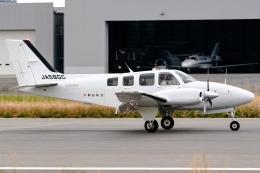 Ariesさんが、八尾空港で撮影した朝日航空 G58 Baronの航空フォト(飛行機 写真・画像)