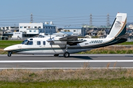 Ariesさんが、八尾空港で撮影した日本団体所有 695 Jetprop 980の航空フォト(飛行機 写真・画像)