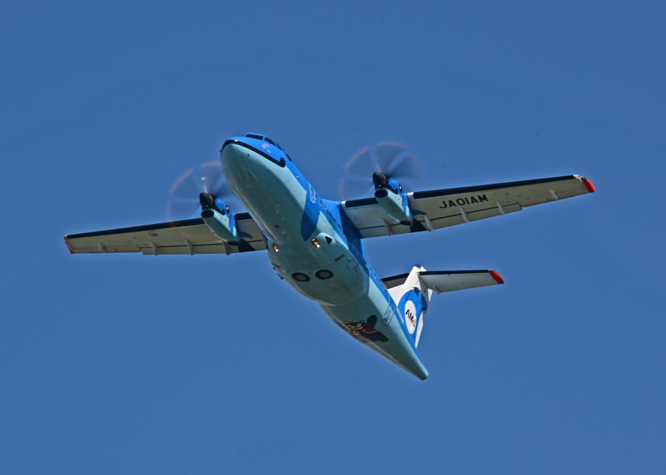 がいなやつさんの天草エアライン ATR 42 (JA01AM) 航空フォト