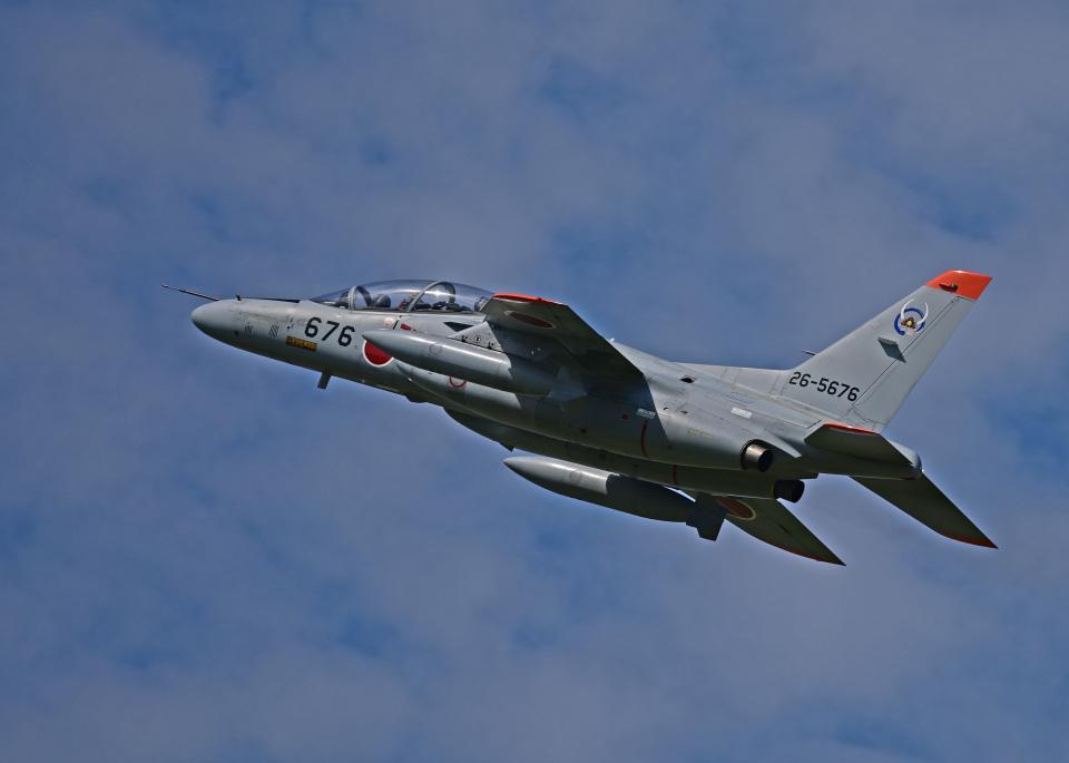 がいなやつさんの航空自衛隊 Kawasaki T-4 (26-5676) 航空フォト
