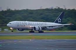 Souma2005さんが、成田国際空港で撮影したユナイテッド航空 777-224/ERの航空フォト(飛行機 写真・画像)