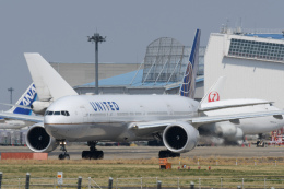 panchiさんが、成田国際空港で撮影したユナイテッド航空 777-322/ERの航空フォト(飛行機 写真・画像)