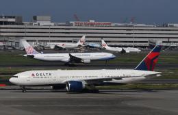チャーリーマイクさんが、羽田空港で撮影したデルタ航空 777-232/LRの航空フォト(飛行機 写真・画像)
