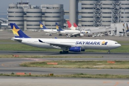 NIKEさんが、羽田空港で撮影したスカイマーク A330-343Xの航空フォト(飛行機 写真・画像)