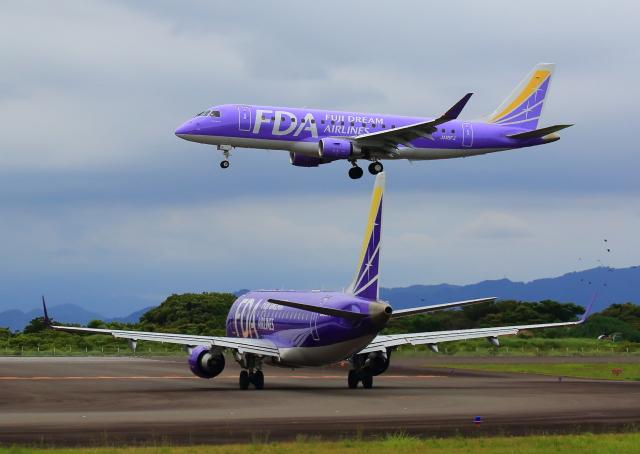 航空フォト:JA16FJ フジドリームエアラインズ