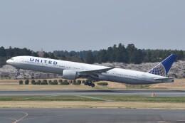 PIRORINGさんが、成田国際空港で撮影したユナイテッド航空 777-322/ERの航空フォト(飛行機 写真・画像)