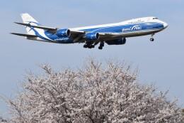 PIRORINGさんが、成田国際空港で撮影したエアブリッジ・カーゴ・エアラインズ 747-83QFの航空フォト(飛行機 写真・画像)