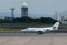 ハミングバードさんが、名古屋飛行場で撮影した中日本航空 560 Citation Vの航空フォト(飛行機 写真・画像)
