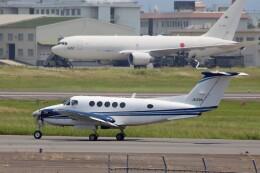 ハミングバードさんが、名古屋飛行場で撮影した中日本航空 B200 Super King Airの航空フォト(飛行機 写真・画像)