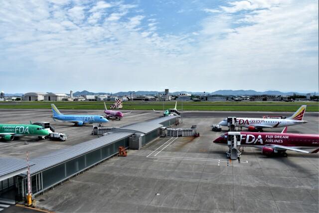 名古屋飛行場 - Nagoya Airport [NKM/RJNA]で撮影された名古屋飛行場 - Nagoya Airport [NKM/RJNA]の航空機写真(フォト・画像)