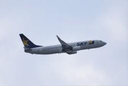 ぬま_FJHさんが、羽田空港で撮影したスカイマーク 737-86Nの航空フォト(飛行機 写真・画像)