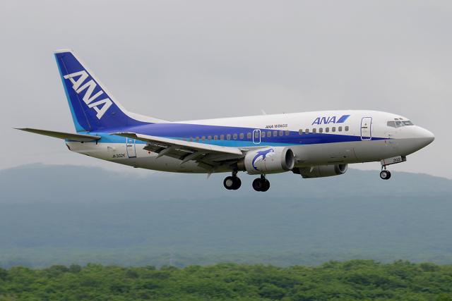 Tomo-Papaさんが、新千歳空港で撮影したANAウイングス 737-54Kの航空フォト(飛行機 写真・画像)