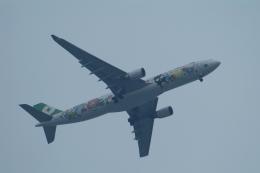 どらネコ★きんぐさんが、羽田空港で撮影したエバー航空 A330-302Xの航空フォト(飛行機 写真・画像)