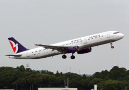 NINEJETSさんが、成田国際空港で撮影したマカオ航空 A321-232の航空フォト(飛行機 写真・画像)
