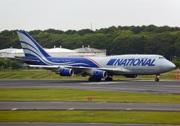 NINEJETSさんが、成田国際空港で撮影したナショナル・エアラインズ 747-428(BCF)の航空フォト(飛行機 写真・画像)
