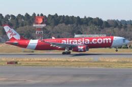 walker2000さんが、成田国際空港で撮影したタイ・エアアジア・エックス A330-343Xの航空フォト(飛行機 写真・画像)