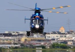 LOTUSさんが、八尾空港で撮影した大阪府警察 EC135P2+の航空フォト(飛行機 写真・画像)