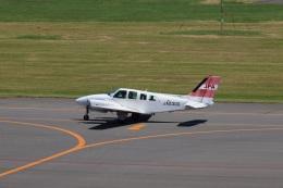 senchouさんが、札幌飛行場で撮影したJALフライトアカデミー 58 Baronの航空フォト(飛行機 写真・画像)