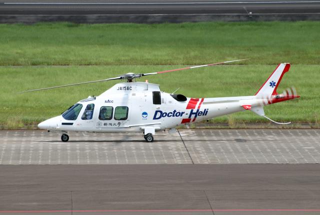 なごやんさんが、名古屋飛行場で撮影した静岡エアコミュータ AW109SP GrandNewの航空フォト(飛行機 写真・画像)