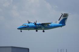 神宮寺ももさんが、伊丹空港で撮影した天草エアライン DHC-8-103Q Dash 8の航空フォト(飛行機 写真・画像)