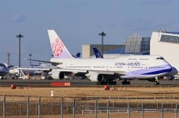 kaeru6006さんが、成田国際空港で撮影したチャイナエアライン 747-409の航空フォト(飛行機 写真・画像)