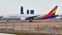 saoya_saodakeさんが、成田国際空港で撮影したアシアナ航空 777-28E/ERの航空フォト(飛行機 写真・画像)