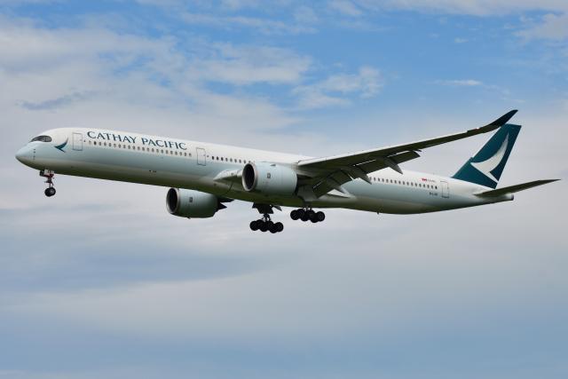saoya_saodakeさんが、成田国際空港で撮影したキャセイパシフィック航空 A350-1041の航空フォト(飛行機 写真・画像)