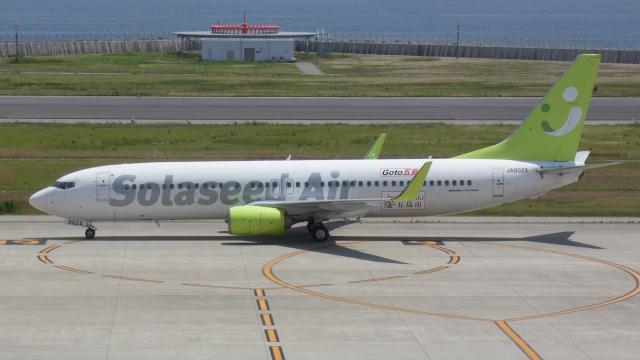 cathay451さんが、神戸空港で撮影したソラシド エア 737-81Dの航空フォト(飛行機 写真・画像)