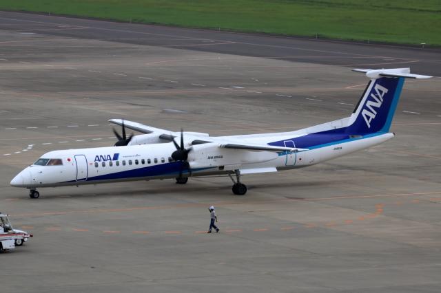 ▲®さんが、仙台空港で撮影したANAウイングス DHC-8-402Q Dash 8の航空フォト(飛行機 写真・画像)