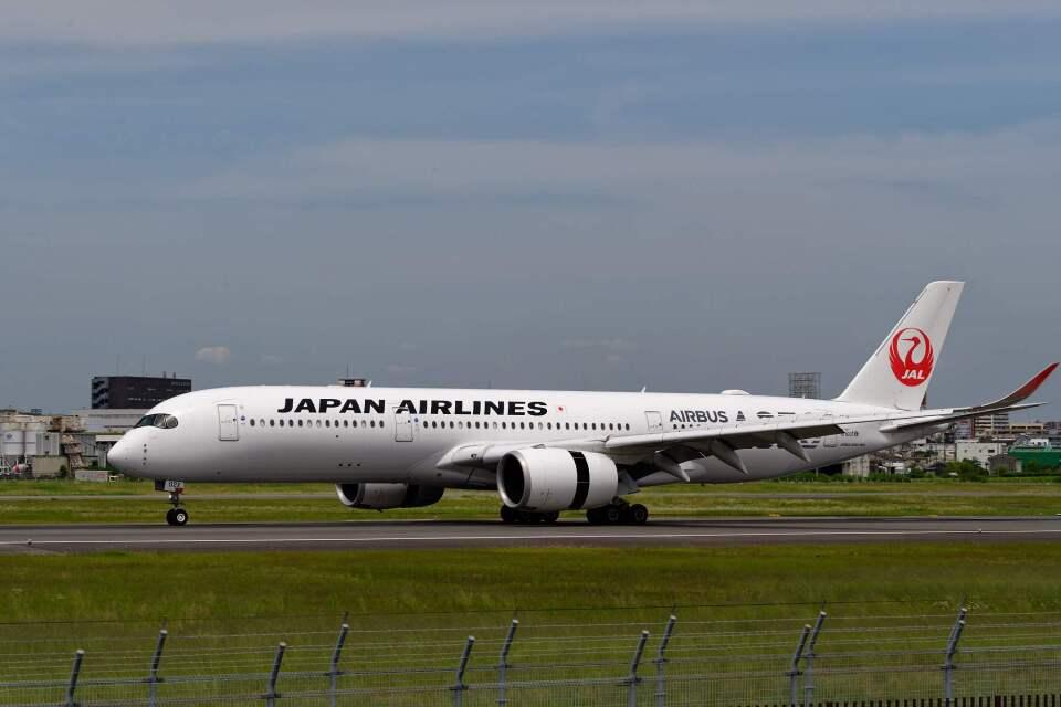 平凡なおっちゃんさんの日本航空 Airbus A350-900 (JA02XJ) 航空フォト